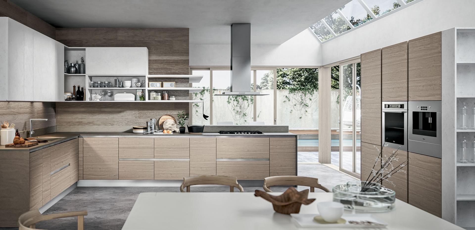Moderne kuhinje v studiu kuhinj gros novak for Arredamenti ad