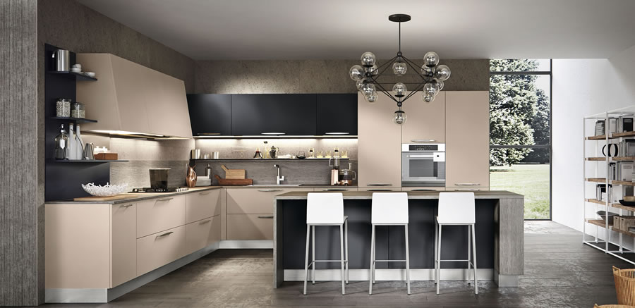 Moderna kuhinja colormatt for Cucine moderne lusso