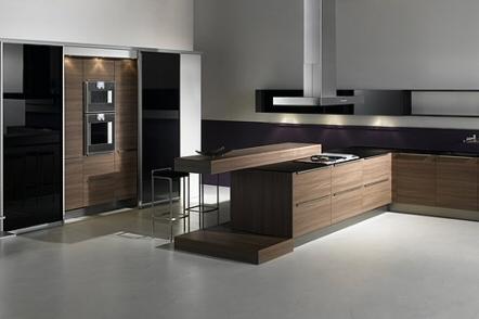 Postavitev kuhinje Nova kuhinja v novi hiši Postavitev kuhinje Več
